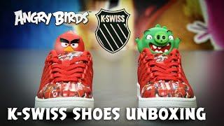 Angry Birds K-Swiss shoes Unboxing!