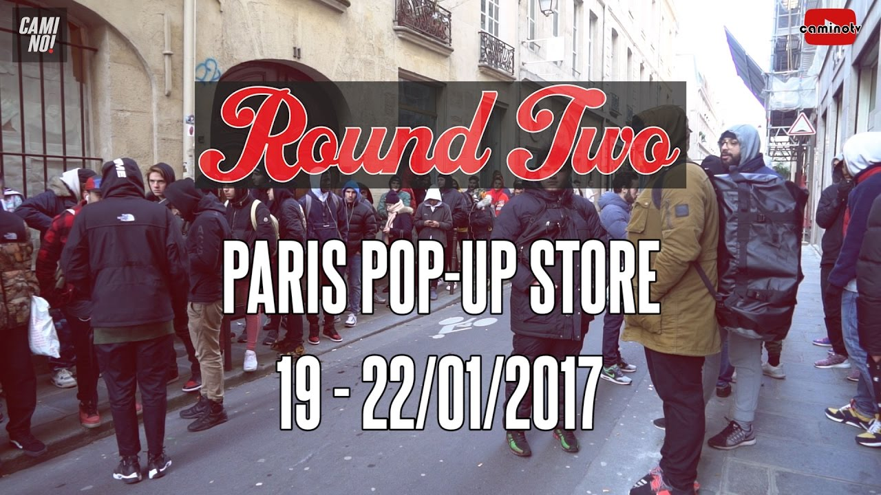 caminews round two paris pop up store supreme vintage and streetwear retailer youtube. Black Bedroom Furniture Sets. Home Design Ideas