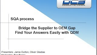 Supplier Quality Assurance - Easily and Inexpensively Communicate SPC Quality Data thumbnail