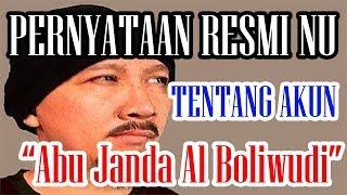 Video Inilah Pernyataan Resmi NU tentang Akun Abu Janda Al Boliwudi download MP3, 3GP, MP4, WEBM, AVI, FLV Juli 2018