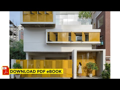 1820 sq.ft Compact Home in Hyderabad | Soul Garden House by Spacefiction Studio