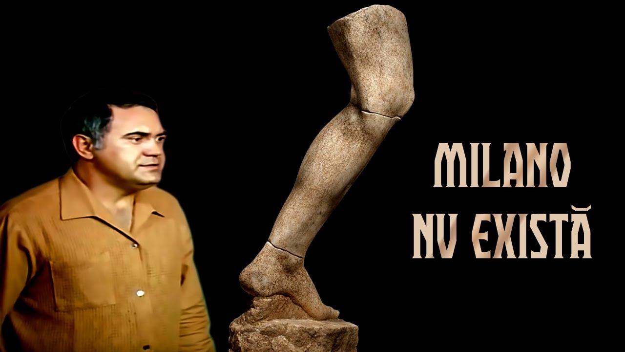 MILANO NU EXISTĂ cu Dem Rădulescu, Virgil Ogășanu, Mihai Fotino ? Teatru Radiofonic Subtitrat