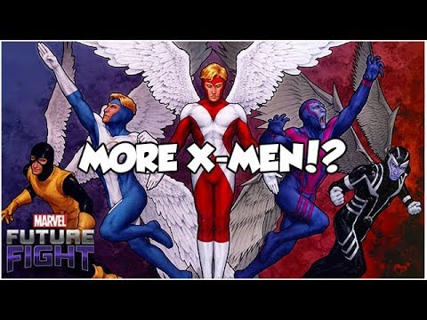 MORE X-MEN!? YES!! (Sneak Peek #1) - Marvel Future Fight