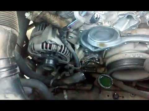 Mercedes Benz C240 Water Pump Replacement Diy Youtube