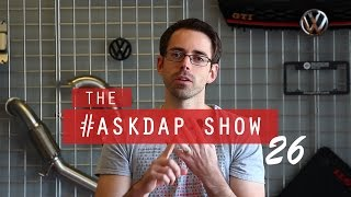 #AskDAP Episode 26 | All MK7 Q's PP Brakes, DCC Suspension and Alignments