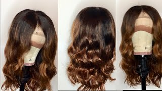 STEP BY STEP EASY FLAWLESS OMBRE/BALAYAGE TUTORIAL ON BUNDLES |VERY DETAILED|