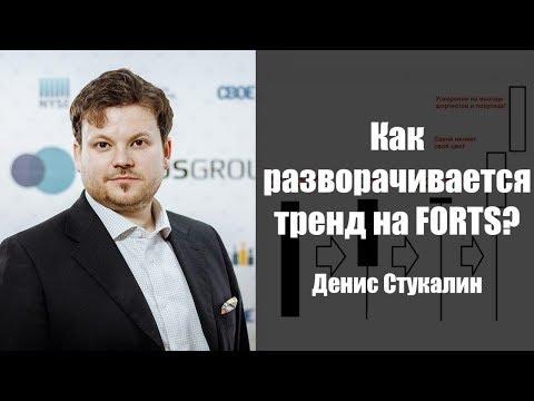 Как разворачивается тренд на FORTS - Денис Стукалин
