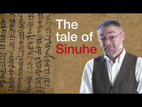 Ancient Egyptian poetry: The Tale of Sinuhe