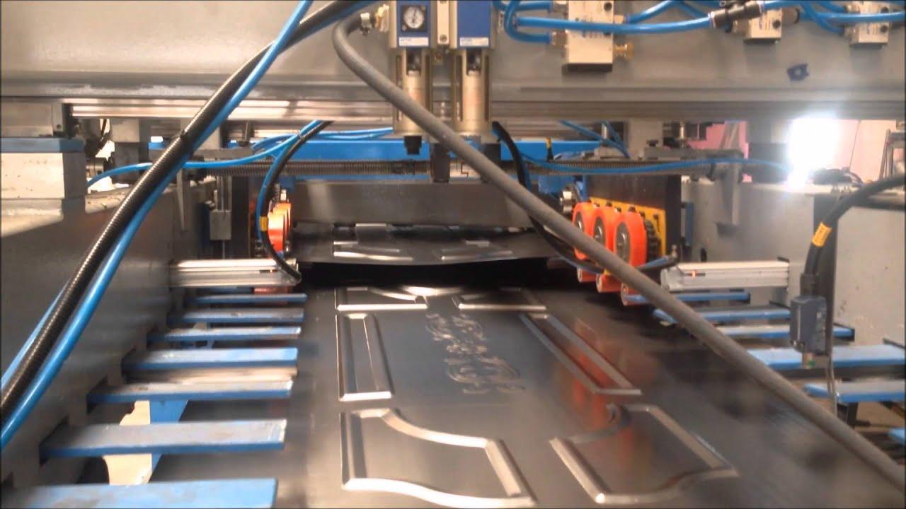 Steel Door Production Line Youtube
