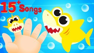 BABY SHARK FAMILY 🐬  Paw Patrol Chase 🚔  Firetrucks, Vehicles, Trains | by Little Angel