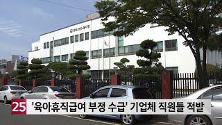 '육아휴직급여 부정 수급' 기업체 직원들…