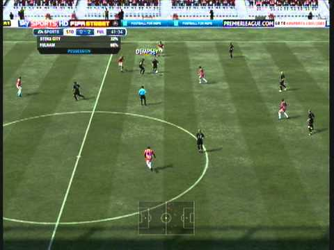 FIFA 12 - Stoke 0 - 2 Fulham 2011 - 2012