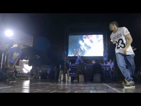 Tarquin VS Jungle Kat  -  Red Bull BC One South African Cyphers  -  CFTV