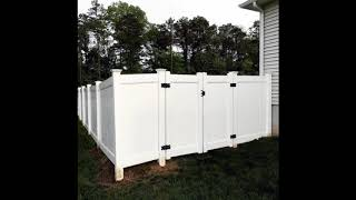 Unique Privacy Fence Ideas For Beautiful Home, Best Shielded Backyard Designs For Beautiful Home #9