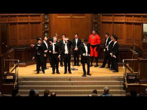 The Family Weekend Concert - The Whiffenpoofs of 2015