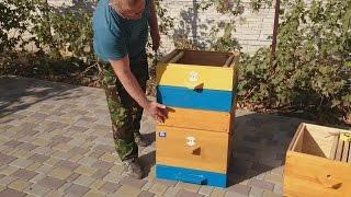 видео Отзывы Крыша 10 рамочного улья - Магазин - Пчеловодство. Купить ульи. Продажа ульев. Цена на ульи
