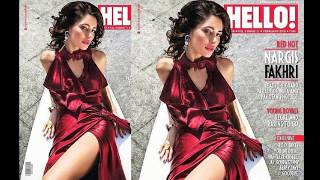 vuclip Nargis Fakhri Hot Photoshoot Video 2016