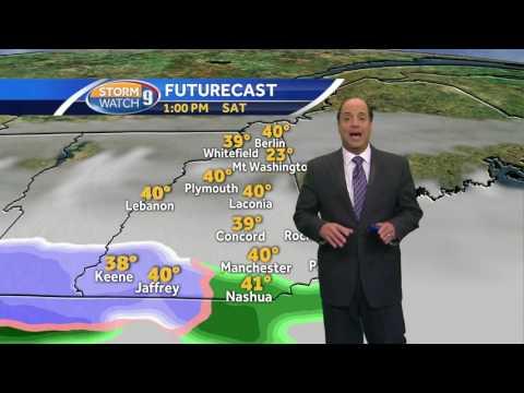 Weekend outlook: Rain, snow possible for some