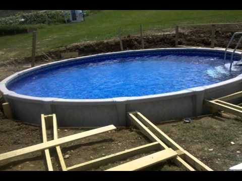 Putting In A Pool And Deck In Timelapse Youtube