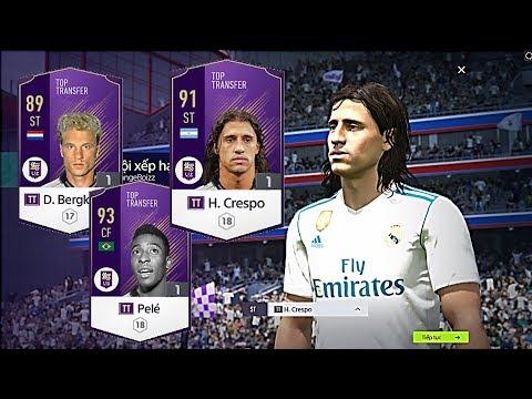 FO4 Review TRẢI NGHIỆM:  H. Crespo TT - Pele TT - D. Bergkamp TT & G. Bale TB - Shoptaycam.com