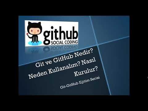 Git ve GitHub Nedir? Neden Kullanayım? Nasıl Kurulur?