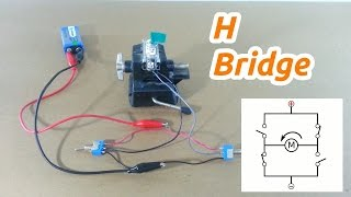 Simple H Bridge for Motor Control with Switches