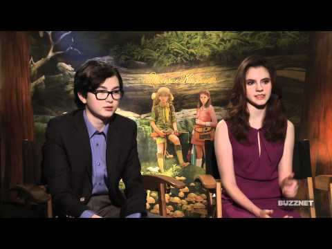 Buzznet Exclusive: Kara Hayward And Jared Gilman On Their First Movie And Kiss!