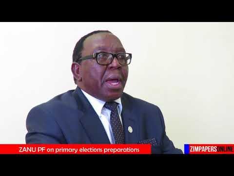 ZANU PF on primary elections preparations