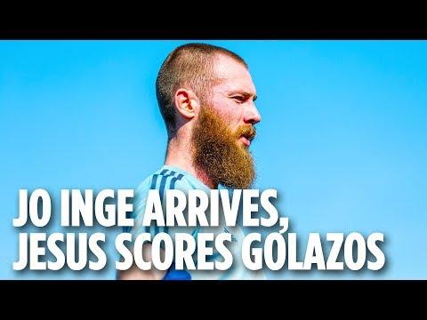 Jo Inge Berget Arrives, Jesus Medina Scores Golazos