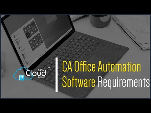 CA Office Automation Software Requirements