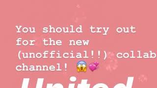 Collab channel auditions 2918 open!