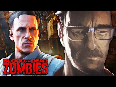 NEW STUHLINGER EASTER EGG IN BLOOD OF THE DEAD! (Black Ops 4 Zombies Blood of the Dead)