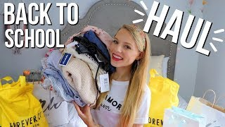 AFFORDABLE BACK TO SCHOOL HAUL!! | Marshalls, Aerie, Forever 21, + More!!