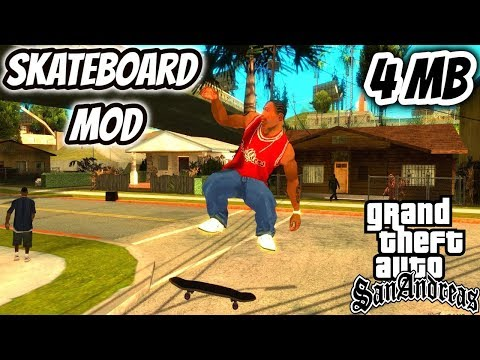 GTA San Andreas Skateboard Mod Download Installation And Gameplay