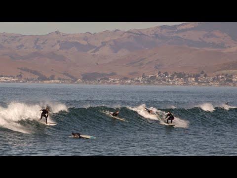 Surfers - Morro Bay