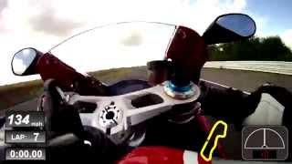 Neil Hodgson rides the Ducati 1199R Panigale at Blyton Park