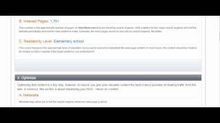 free seo site grader tool