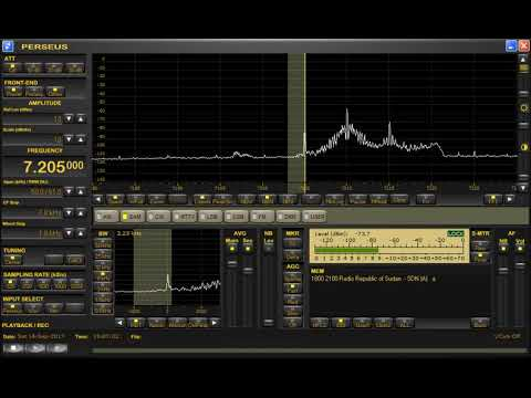 7205kHz Sudan Radio