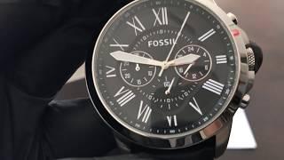 Reloj FOSSIL FS4812 - UNBOXING FOSSIL Watch FS4812 (Regaloj)