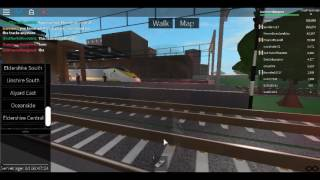 Roblox Terminal Railways TGV Reseau and Class 373 Eurostar Departs Eldershire Central with horn