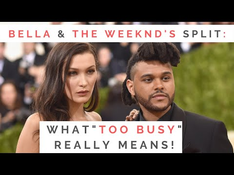 LESSONS FROM BELLA HADID & THE WEEKND'S BREAK UP: Dating A Guy Who's Busy Or Long Distance | Shallon