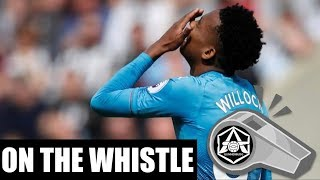 On the Whistle: Newcastle 2-1 Arsenal -