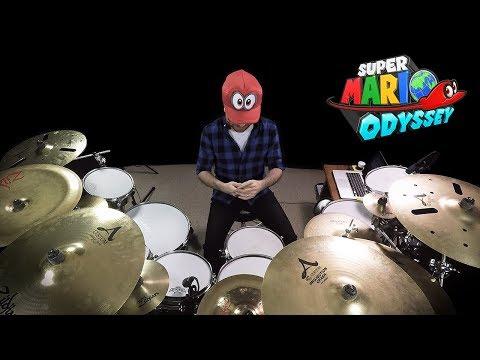 Jump Up, Super Star! | Super Mario Odyssey (Drum Video)