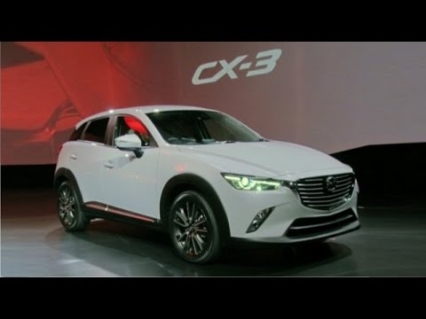 2017 2018 Mazda Cx 3 Redesign Powertrain Upgrade Youtube
