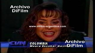 DiFilm - Muerte de Pablo Escobar Gaviria - Rodolfo Pousa enviado especial (1993)