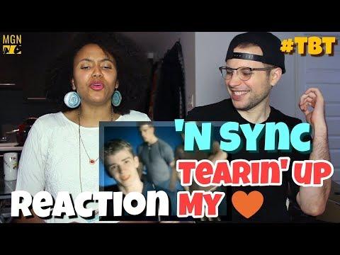 'N Sync - Tearin' Up My Heart | REACTION