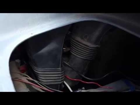 Замена вентилятора печки на Форд Транзит. 2 Часть.