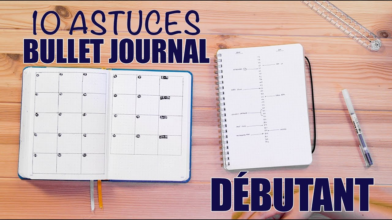 10 astuces bullet journal pour d butant feat c line h youtube. Black Bedroom Furniture Sets. Home Design Ideas