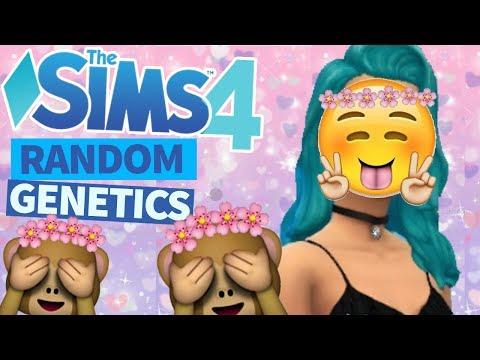 Sims 4 Random Genetics Challenge | CAS