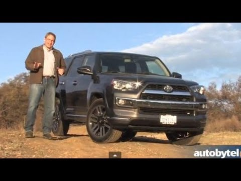 Superior 2014 Toyota 4Runner Limited Test Drive Video Review